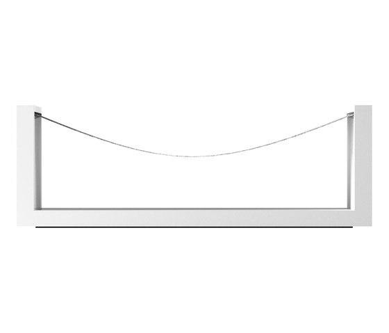 REMISSIO Hängematte von Rechteck   Wartemöbel / Loungemöbel