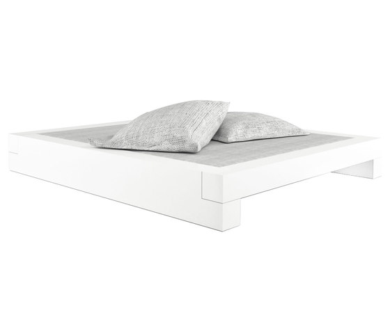 SOMNIUM Bett by Rechteck | Double beds
