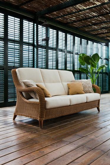 Kenya sofa 3 by Point | Garden sofas