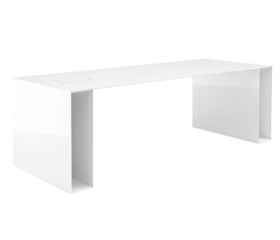SUMMARUM Leve table de Rechteck | Mesas multimedia