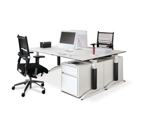 Palmega by PALMBERG   Desking systems