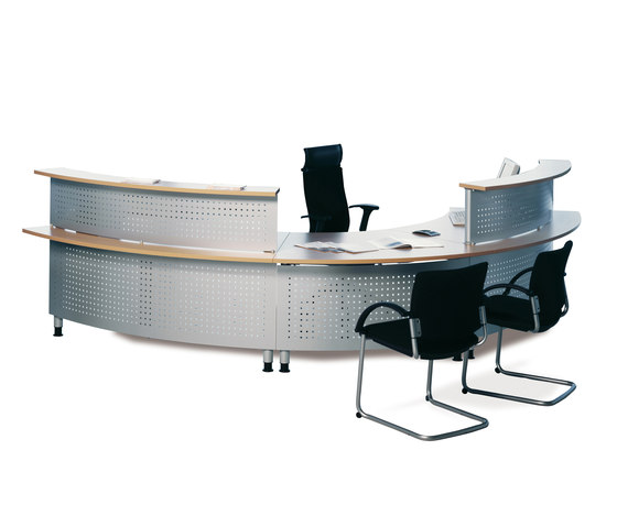 Entrée by PALMBERG | Reception desks