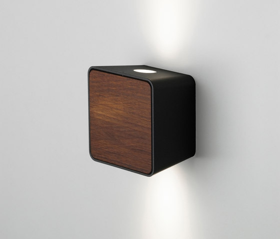 Lab 2 Black Dark Iroko by Marset | Spotlights