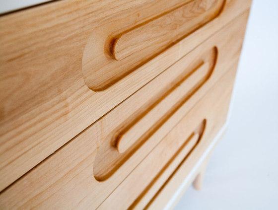 Caravan Dresser de De Breuyn | Armarios / Estanterías para niños