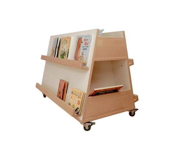 Mobile storage by de breuyn book display - De breuyn mobel ...