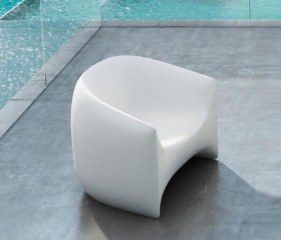 Blow Armchair di Vondom | Poltrone da giardino