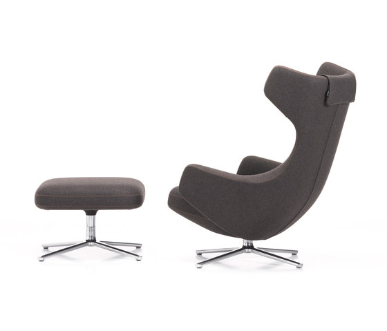 Grand Repos & Ottoman by Vitra | Lounge chairs
