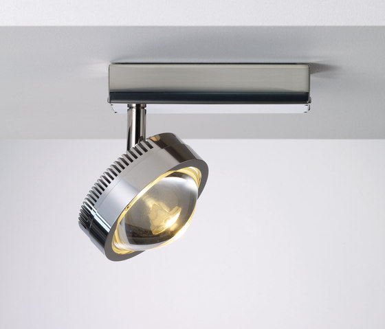 Ocular Spot 1 LED S 100 02 by Licht im Raum | Ceiling lights in stainless steel