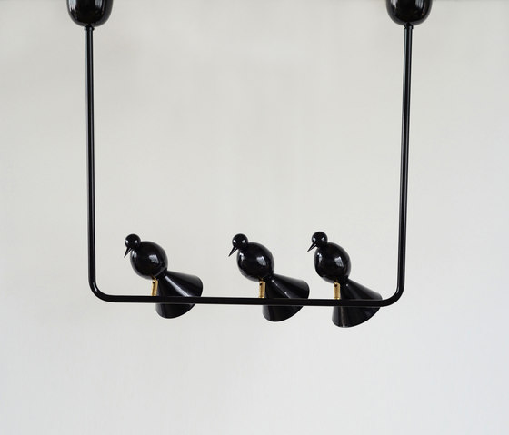 Alouette Ceiling lamp | 3 birds U by Atelier Areti | General lighting