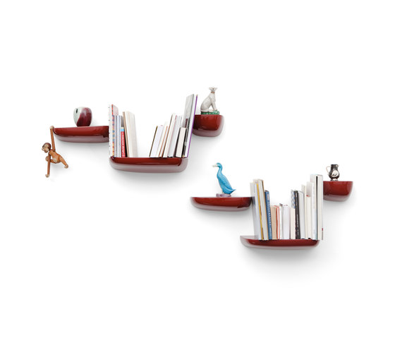 Corniches japanese red di Vitra | Librerie