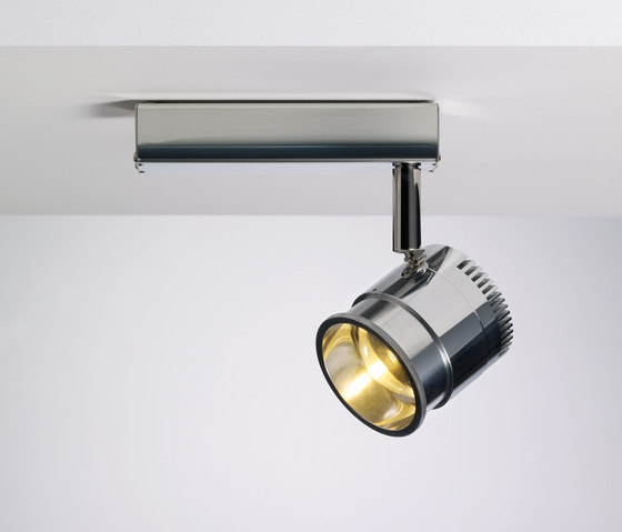 Ocular Spot 1 LED Zoom 01 by Licht im Raum | Ceiling lights in stainless steel