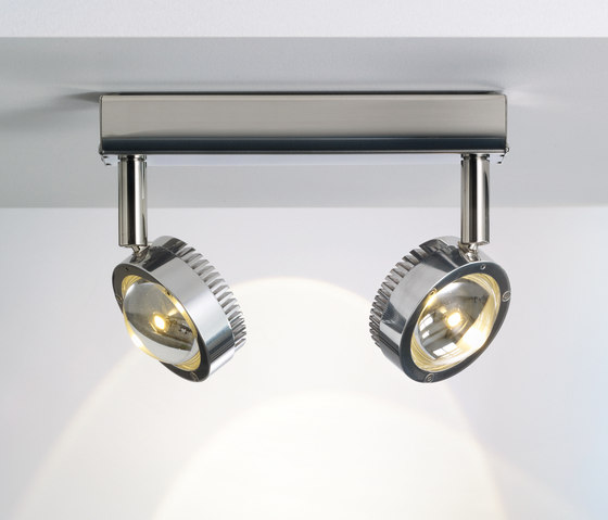 Ocular Spot 2 LED 04 by Licht im Raum | Ceiling lights in stainless steel