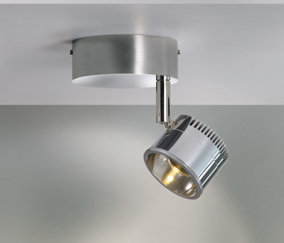 Ocular Spot 1 Serie 100 Zoom Rund by Licht im Raum | Ceiling lights in stainless steel