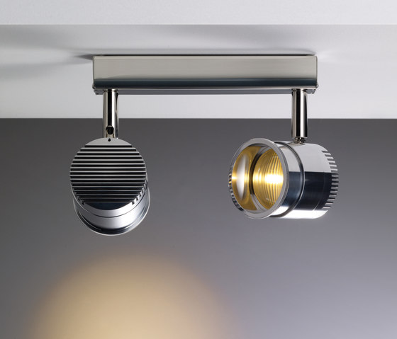 Ocular Spot 2 LED Zoom 02 by Licht im Raum | Ceiling lights in stainless steel