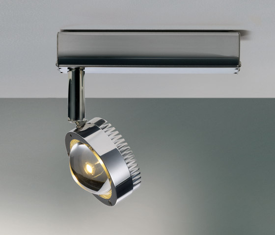 Ocular Spot Leiste by Licht im Raum | Ceiling lights in stainless steel