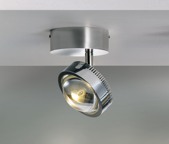 Ocular Spot 1 S100 Rund by Licht im Raum | Ceiling lights in stainless steel