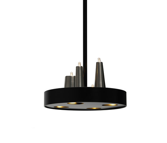 Table d'Amis hanging lamp round by Brand van Egmond | General lighting