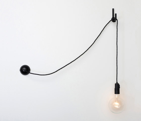 Hook wall light by Atelier Areti | Suspended lights