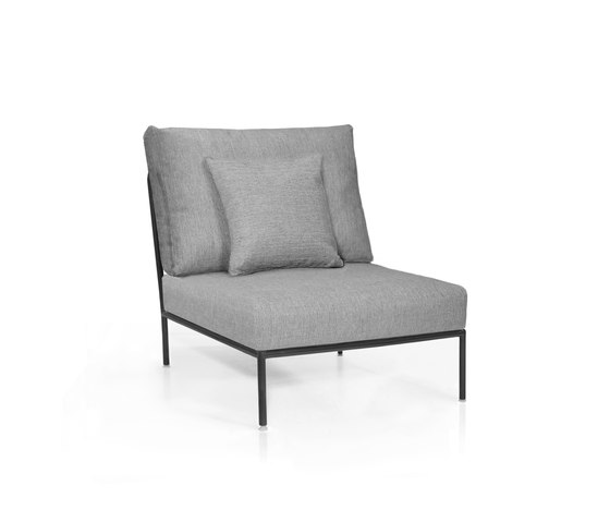Nido Right Central module by Expormim | Garden armchairs