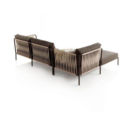 Nido modular composition by Expormim | Garden sofas