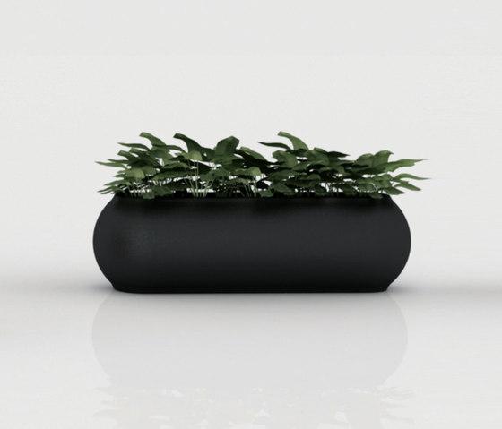 Kannelloni pot by Vondom | Flowerpots / Planters