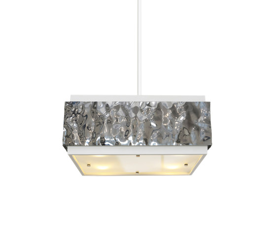 Crushed Cover hanging lamp square by Brand van Egmond | General lighting