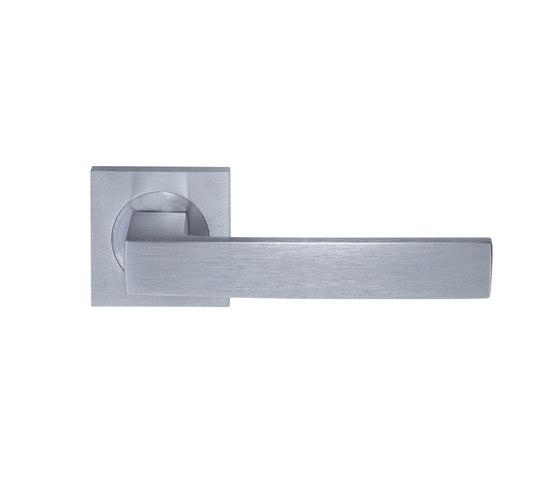 Angolo Door handle by GROËL | Lever handles