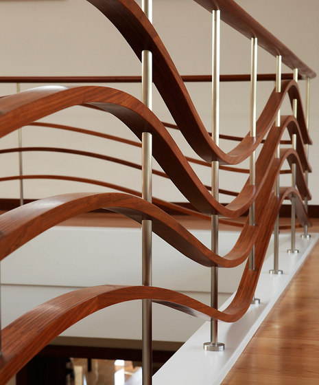 Moskau by Siller Treppen | Wood stairs