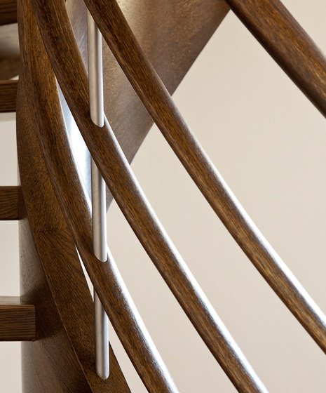 Amsterdam by Siller Treppen | Wood stairs