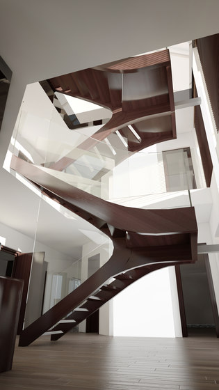 Melbourne by Siller Treppen | Staircase systems