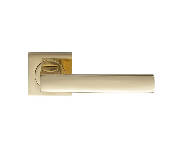 Angolo Door handle by GROËL | Lever handles