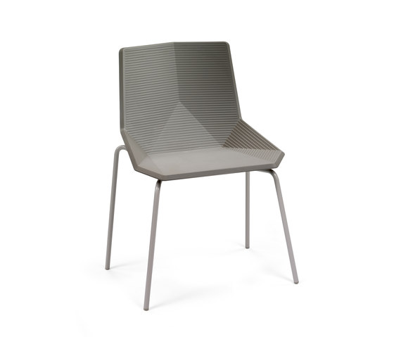 Green | eco metal de Mobles 114 | Chaises de cantine