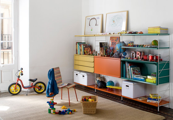 TRIA 36 kids & teens by Mobles 114 | Shelving