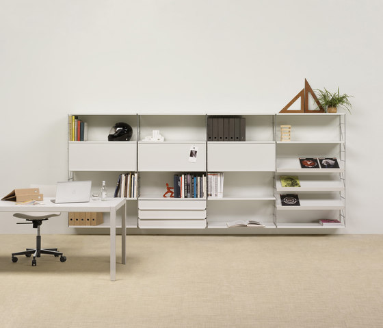 Tria 36 wall system by Mobles 114 | Office shelving systems