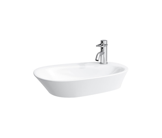 Palomba Collection | Bowl with tapbank by Laufen | Wash basins
