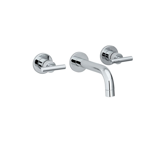 Twinprime | Concealed 2 handles basin mixer by Laufen | Wash-basin taps
