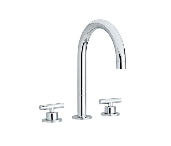 Twinprime | 3 holes basin mixer di Laufen | Rubinetteria per lavabi