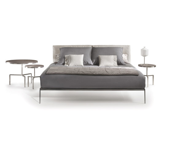 Lifesteel Bed by Flexform | Double beds