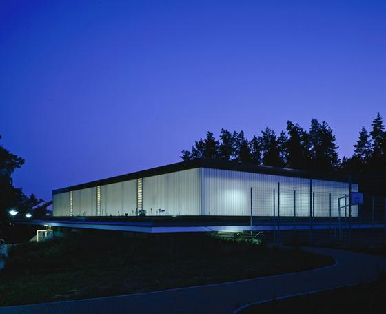 TIMax GL | Sporthalle Berlin di Wacotech | Facade design