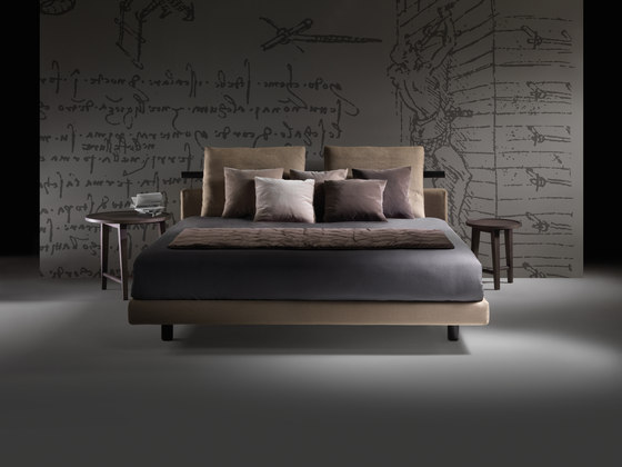 Patrik Bed by Flexform | Double beds