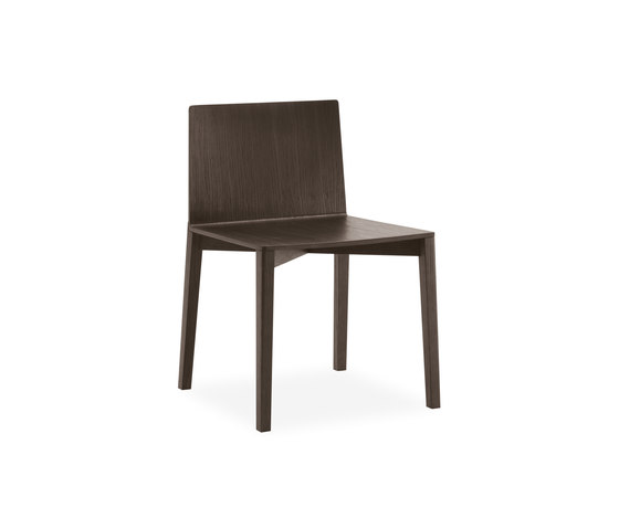 Draw chair by Poliform | Restaurant chairs