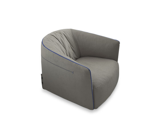 Santa Monica armchair by Poliform | Lounge chairs