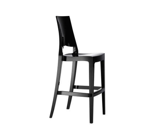 Glenda  nero lucido by Scab Design | Bar stools