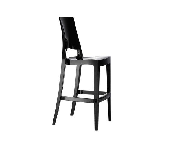 Glenda  nero lucido di Scab Design | Sgabelli bar
