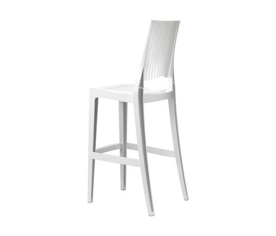 Glenda  bianco lucido di Scab Design | Sgabelli bar