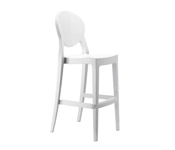 Igloo bianco lucido di Scab Design | Sgabelli bar