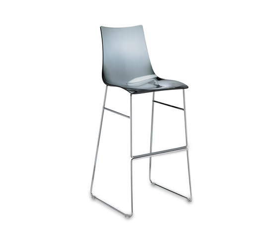 Zebra Antishock stool sledge frame by Scab Design | Bar stools