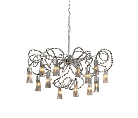 Sultans of Swing chandelier round by Brand van Egmond | Ceiling suspended chandeliers