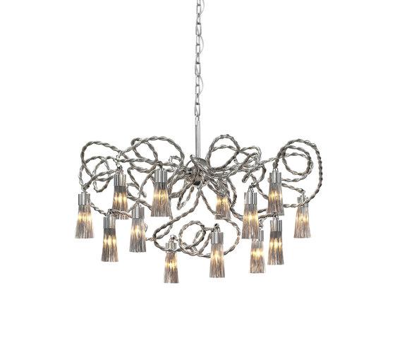 Sultans of Swing chandelier round de Brand van Egmond | Lustres suspendus