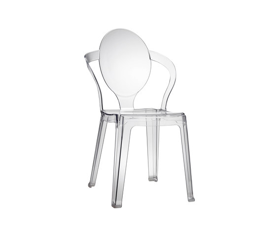 Spoon 100 by Scab Design | Restaurant chairs